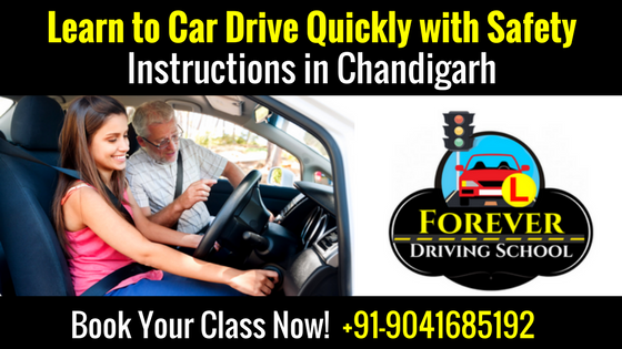 Learn to Car Driving Quickly with Safety Instructions in Chandigarh