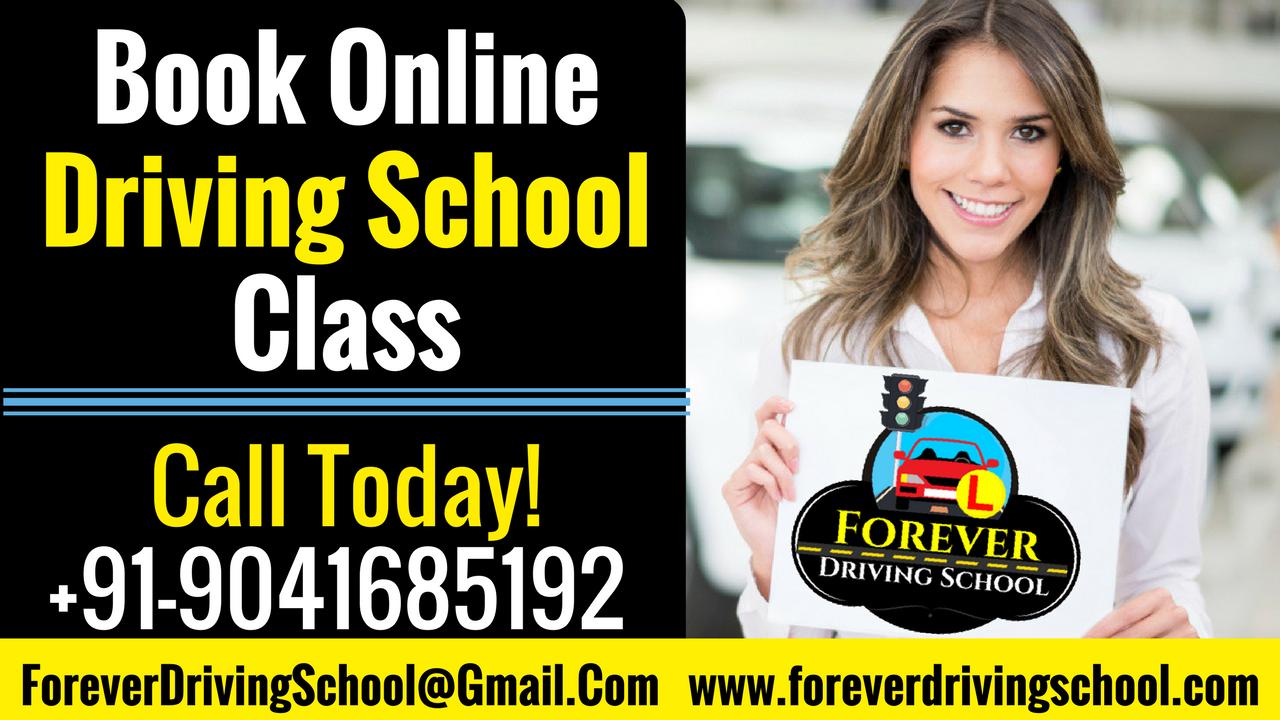 Book Online Driving School Class in Chandigarh