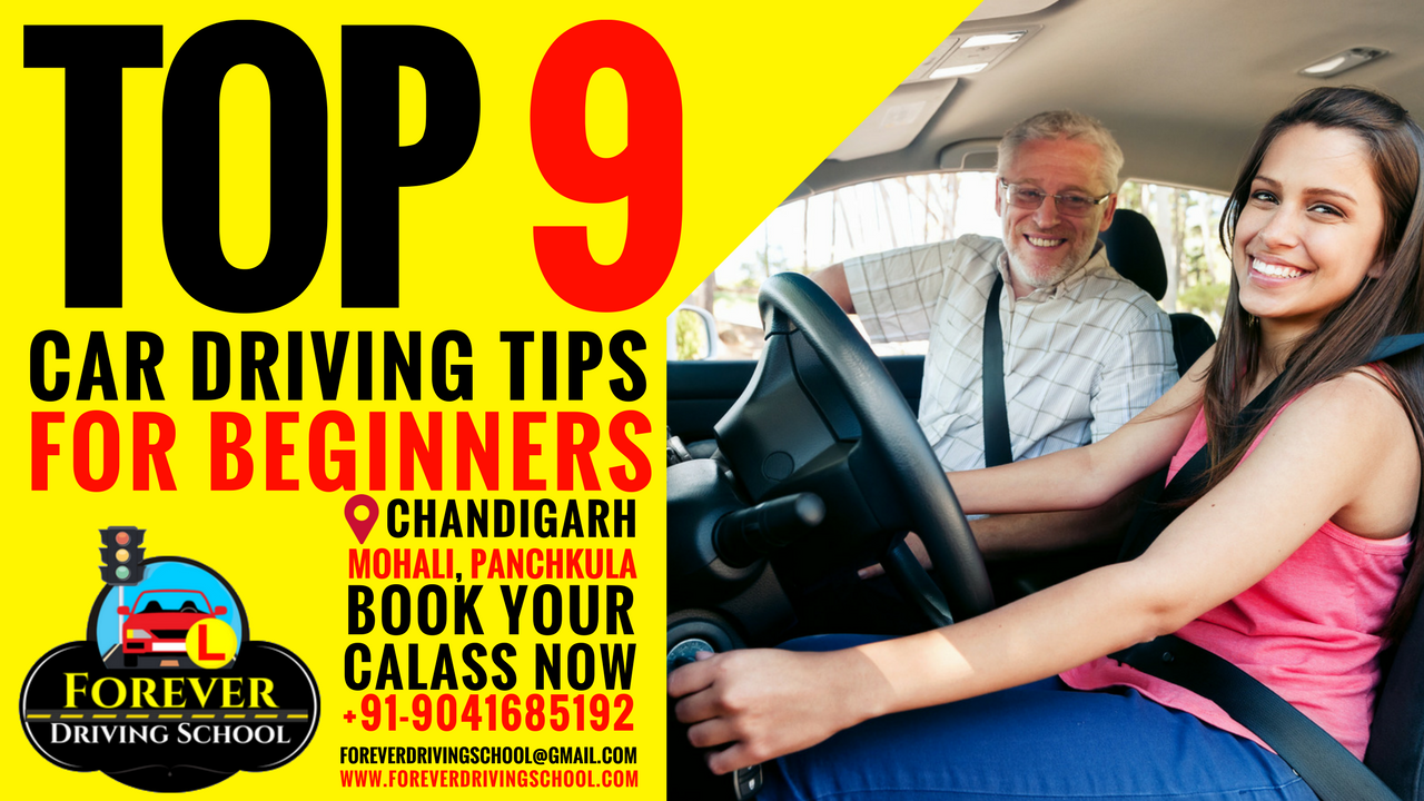 Top 9 Car Driving Tips for Beginners/Learners