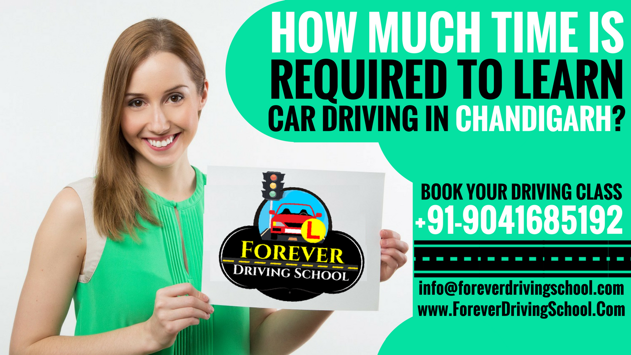 How Much Time Required To Learn Car Driving in Chandigarh