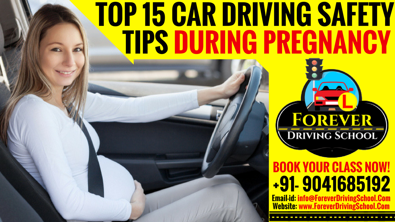 Car Driving Safety Tips during Pregnancy